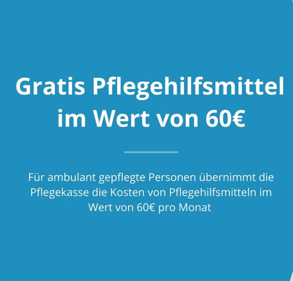 Second Life Care-Hilfsmittel Pflegebox gratis