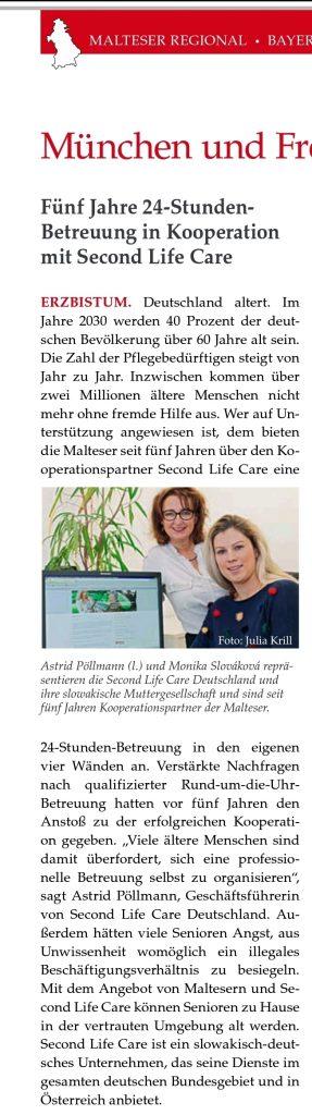 Malteser Second Life Care Kooperationspartner